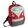Volkswagen Front Campervan T1 Small Backpack - Red