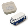 VW Campervan 3D Magnet - Includes Gift Tin Case - Blue