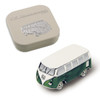 VW Campervan 3D Magnet - Includes Gift Tin Case - Green