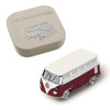 VW Campervan 3D Magnet - Includes Gift Tin Case - Red