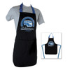 Volkswagen T1 Campervan BBQ Cooking Apron - Black