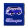 VW Campervan Sideview Cigarette Case - Royal Blue