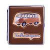 VW Campervan Sideview Cigarette Case - Tan Brown