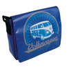 Tarpaulin VW Campervan Shoulder Bag - Small - Blue