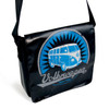 Tarpaulin VW Campervan Shoulder Bag - Small - Black