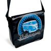 Tarpaulin VW Campervan Shoulder Bag - Large - Black