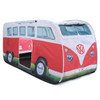 Kids Play VW Campervan Pop Up Tent - Red