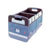 VW Brown & Petrol Blue Campervan Foldable Storage Organiser