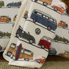 Volkswagen Fun Camper Van Fleece Throw Blanket