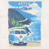 Volkswagen Campervan Exploring Mens T-Shirt