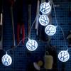 Volkswagen 3D VW Logo LED Fairy Lights