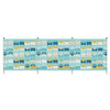 Volkswagen Campervan Blue Beach Windbreak - 4 Pole Version