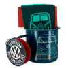 Volkswagen Campervan Enamel Tin Mug & Socks Set