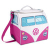 Volkswagen Campervan Large Cool Bag - Pink