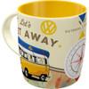 Volkswagen Campervan Lets Get Away Mug