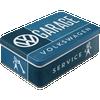 Volkswagen Campervan VW Garage Tin Box Flat