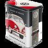 Volkswagen Campervan Good In Shape Tin Box Large