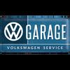 Volkswagen Campervan VW Garage Embossed Metal Tin Sign
