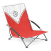 Volkswagen Red Campervan Folding Low Camping Chair