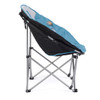 Volkswagen Blue Campervan Moon Camping Chair