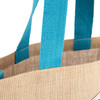 Volkswagen Campervan Blue Reusable Shopper Jute Bag