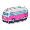 Volkswagen Campervan Pencil Case / Compact Case - Pink