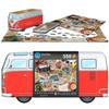 Volkswagen 550 Piece Campervan Road Trips Puzzle Tin