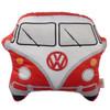 Volkswagen Red Campervan Shaped Cushion