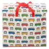 Volkswagen Quad Coloured Campervan Laundry Storage Bag