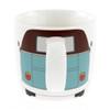 Splitscreen VW Brown & Petrol Blue Campervan Mug