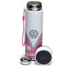 Volkswagen Campervan Summer Love Digital Thermometer Insulated Drinks Flask