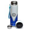 Volkswagen Blue Campervan Digital Thermometer Insulated Drinks Flask