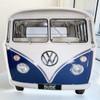 Volkswagen Blue Campervan Greetings Card