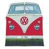 Volkswagen Campervan 4 Man Adult Tent - Red Front