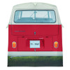 Volkswagen Campervan 4 Man Adult Tent - Red Rear