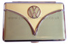 Official VW Campervan Card Holder - Olive and Cream