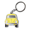 Official VW Yellow Beetle Metal Keyring - Includes Gift Tin Case
