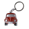 Official VW Red Beetle Metal Keyring - Includes Gift Tin Case