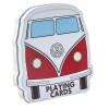 Volkswagen Campervan Playing Cards - Presentation TIn