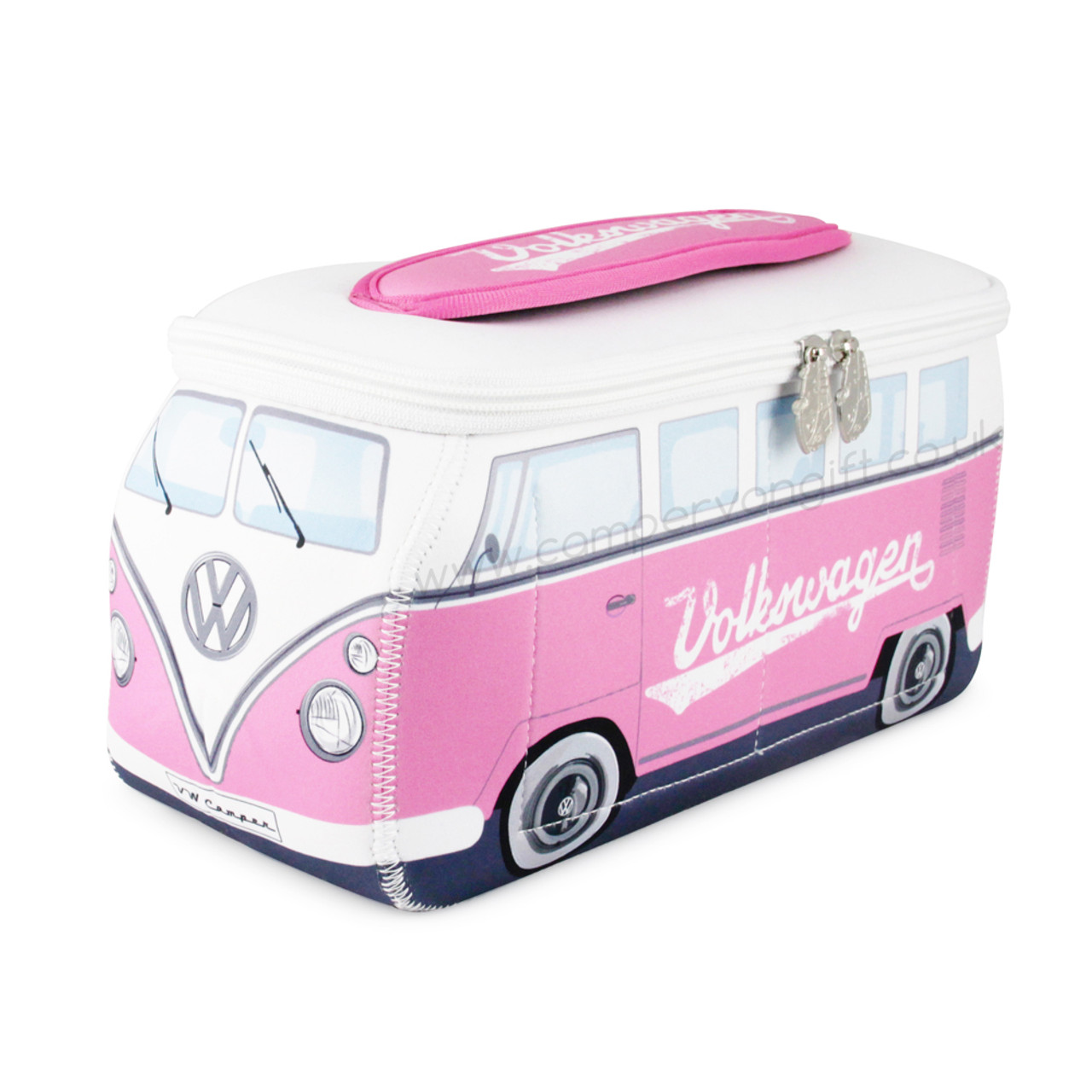 1e145edfcc75 VW Pink Campervan Universal Neoprene Wash Bag - Highly Versatile Camper Bag