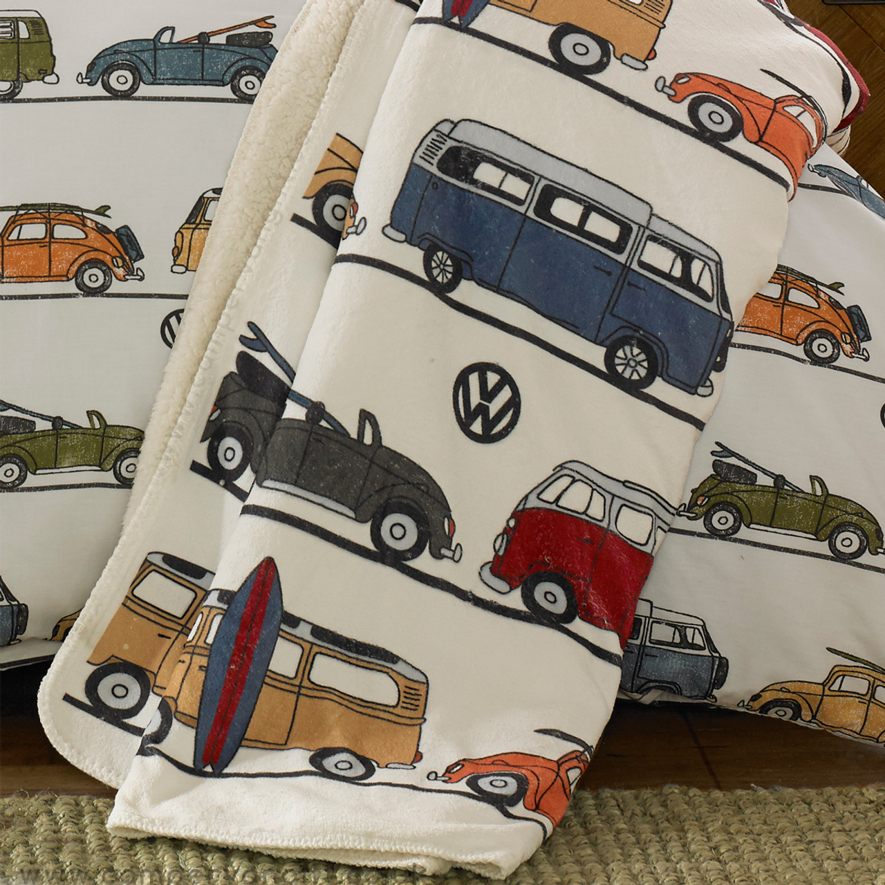 fun camper VW throw blanket  00496.1519827865.jpg c 2 imbypass on 91e88b81e