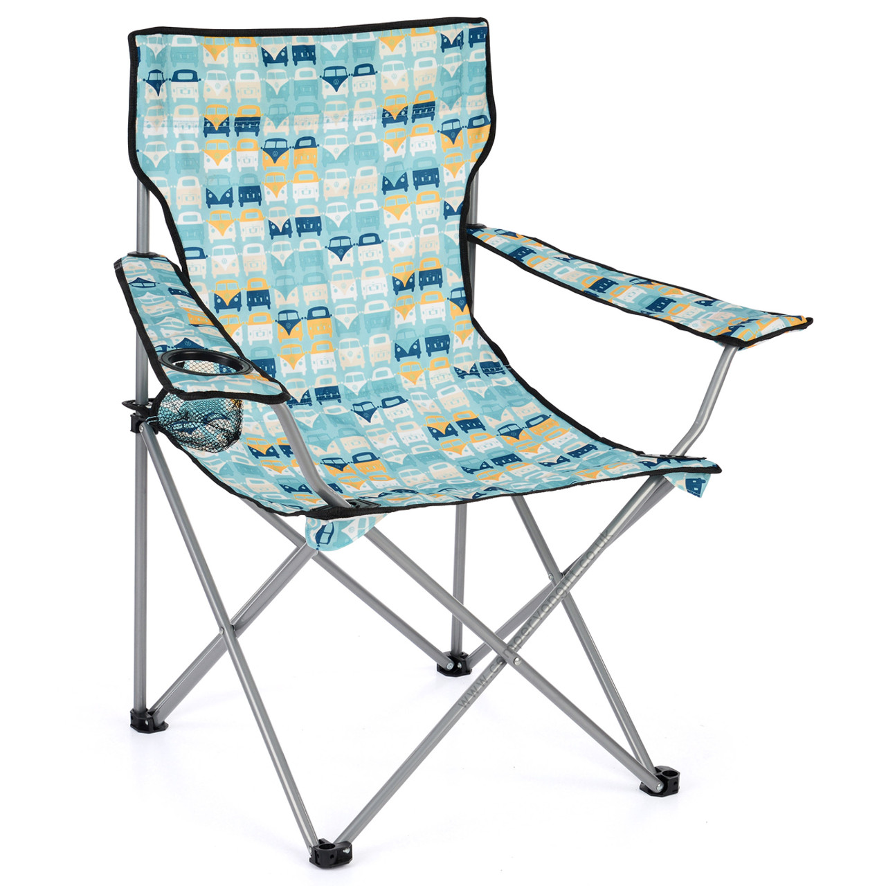 Phenomenal Volkswagen Campervan Blue Beach Folding Camping Chair Pabps2019 Chair Design Images Pabps2019Com