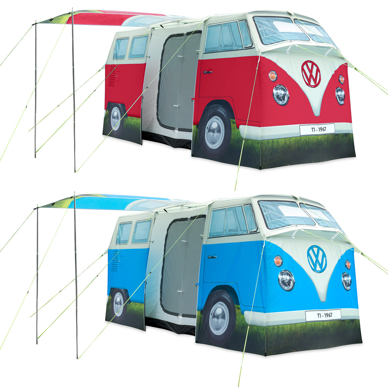 Vw Camper Van >> Adult Vw Campervan 4 Man Tent Campervan Gift Ltd