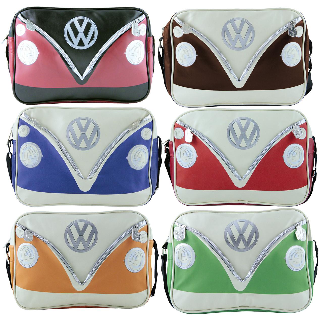 Volkswagen Retro Front Campervan Shoulder Bag Campervan Gift Ltd