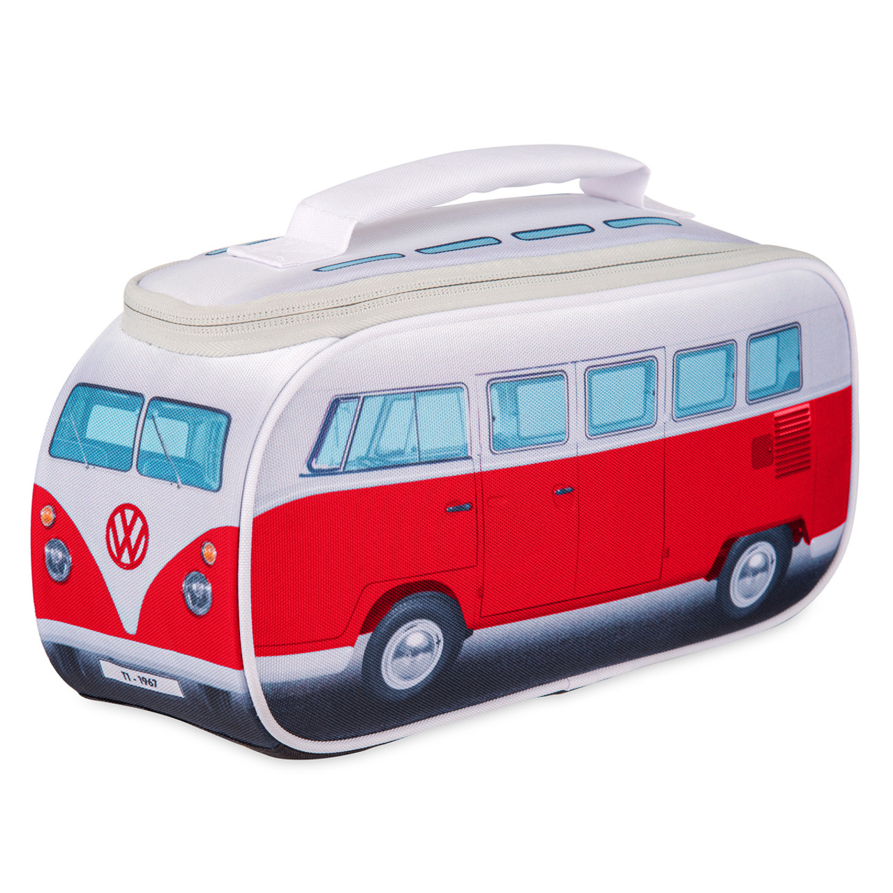 camper van coin purse available in red blue and yellow