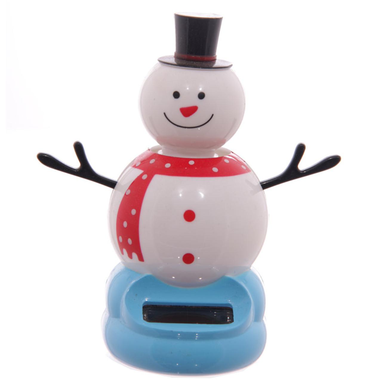 the latest 5b8f4 1d273 Solar Powered Dancing Snowman