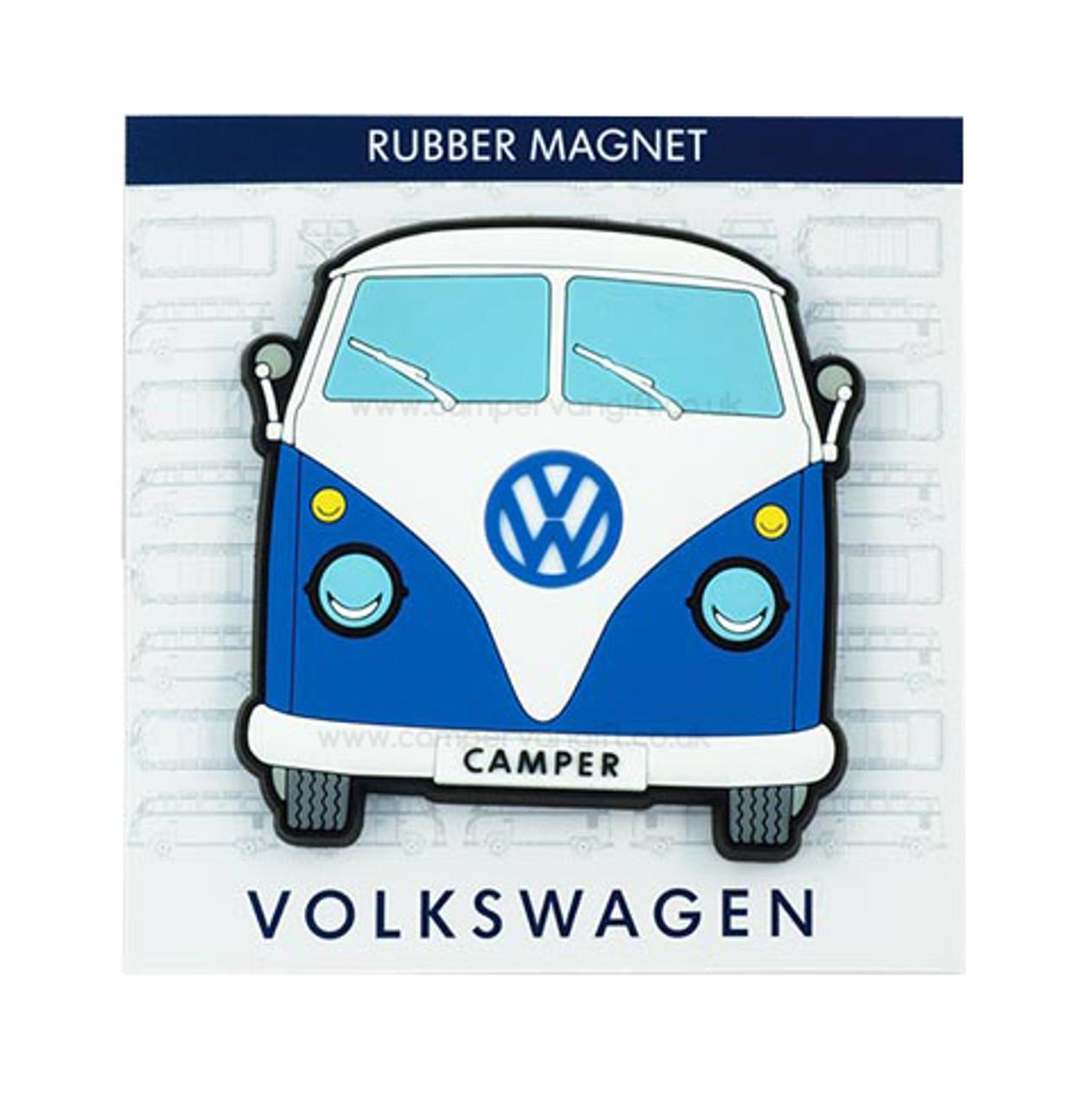 Vw Campervan Rubber Fridge Magnet Front View Campervan Gift Ltd