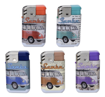 VW Campervan Refillable Lighter Gift Set