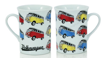 VW Pop Art Campervan Coffee Mug