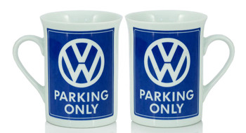 VW Parking Only Campervan Coffee Mug
